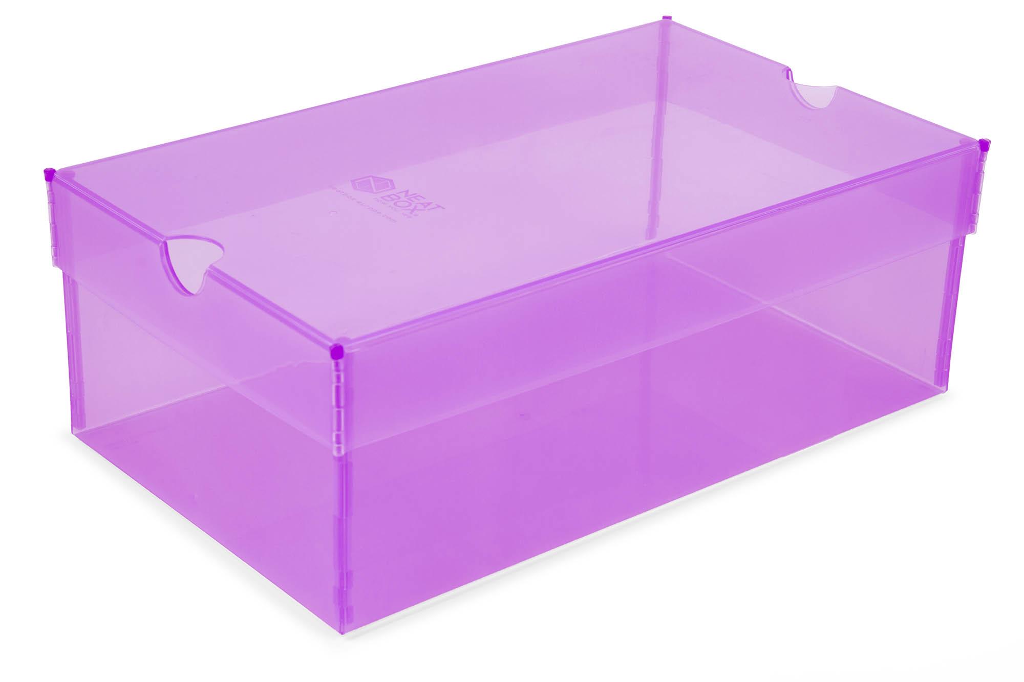 Caixa com fundo plano e tampa plana entregue para montagem - Pack 30